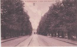ALESSANDRIA - VIALE DELLA STAZIONE - VIAGGIATA 1933 - Alessandria