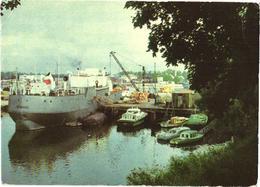 Estonia:Pärnu Fishing Port, 1971 - Ships