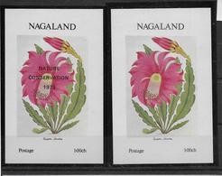Thème Cactus - Nagaland - Neufs ** Sans Charnière - TB - Sukkulenten