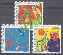 Luxembourg 2001 Mi 1550-1552 MNH ( ZE3 LXB1550-1552 ) - Autres