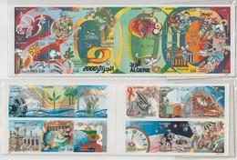 Algérie 1999 Passage AN 2000 2 Carnets 1220 Et 1230 ** MNH - Algerien (1962-...)