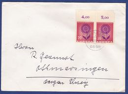 Brief Mit Mehrfachfrankatur MiNr. 446, Bogenrand (br9861) - [7] Federal Republic