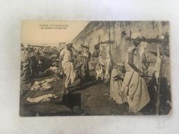 CPA MAROC - Maroc Pittoresque - Bouchers D'indigènes - Maroc