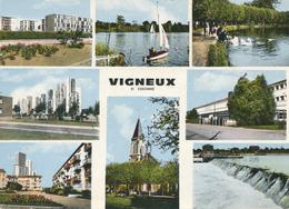 91) VIGNEUX-sur-SEINE : Dibvers Aspects De La Ville - Vigneux Sur Seine