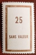 France Rare Fictif Des FOM N° F22 N** Luxe Gomme D'origine Sans Charnière. Cote 2017 : 60 E - Finti