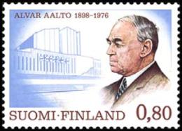 Finland - 1976 - ( Hugo Alvar Henrik Aalto - Architect ) - MNH (**) - Ungebraucht