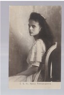 Royalty Russia Irina Ca 1910 Old Photo Postcard - Russie