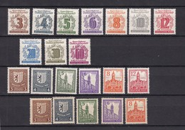 West-Sachsen - 1946 - Sammlung - Ungebr./Postfrisch - Soviet Zone
