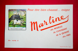 Buvard Chaussures MARLINE, Devinette, Le Loup Et L'Agneau - Chaussures