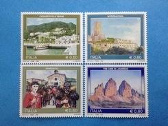 2008 ITALIA FRANCOBOLLI NUOVI ITALY STAMPS NEW MNH** TURISTICA - 6. 1946-.. Republic