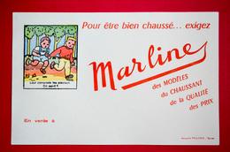 Buvard Chaussures MARLINE, Devinette, Enfants - Chaussures