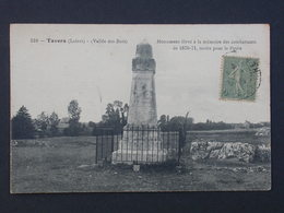 Ref5893 CPA De Tavers (Loiret) - Monument Combattants 1870-71 - N°510 - Vallée Des Buis - War Memorials