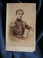 Photo CDV Léopold Dubois à Poitiers - Portrait Du Grand-duc Nicolas Alexandrovitch De Russie (1843-1865) L498C - Oud (voor 1900)