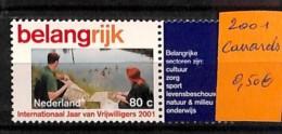 [815740]TB//**/Mnh-Pays-Bas 2001 -  Animaux, Canards - Canards
