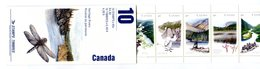 RC 16991 CANADA BK131 HERITAGE RIVERS RIVIERES ISSUE CARNET COMPLET BOOKLET NEUF ** TB MNH VF - Full Booklets