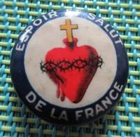 Religious Pin - Espoir Et Salut De France - Religione & Esoterismo