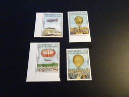 K31051 S- Set MNh Central Africa - 1983 - Airballoons - Airships