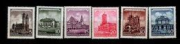 DDR 491 - 496 Historische Bauwerke Postfrisch ** MNH Neuf - Ongebruikt