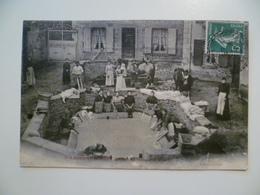 CPA / Carte Postale Ancienne  / 69 / SAINT LAURENT D'AGNY Lavandières / La Fontaine Et Le Lavoir - France