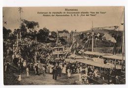 """Cartolina-Postcard, Non Viaggiata (unsent) - Blumenau Imbarco Per La Nave Tedesca  S.M.S """"Von Der Tann"""" - Brasile"""