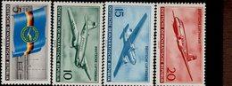 DDR 512 - 515 Luftverkehr Postfrisch ** MNH Neuf - Neufs