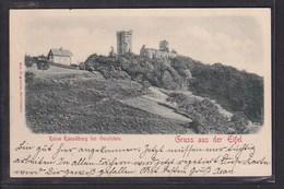 B50 /   Kasselburg Gerolstein Gruss Aus Eifel / Relief Karte - Münstereifel 1902 - Gerolstein