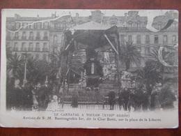 83 - TOULON - Le Carnaval à Toulon - Arrivée De S M. Raminagrobis 1er, Dit Le Chat Botté. (belle Animation) - Toulon