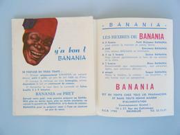 BANANIA  - Dépliant De Recettes - 1960 - Advertising