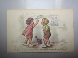 Carte Postale Illustrateur LAGARDE Genre Bouret - Andere Zeichner