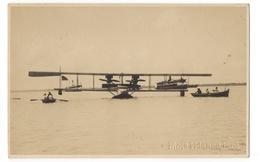 Cartolina-Postcard, Viaggiata (sent) - Brasile, Idrovolante, 4 Manifestazione Marittima Di Pernambuco - Airplanes