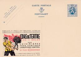 Carte Entier Postal Publibel Coke De Tertre - Entiers Postaux