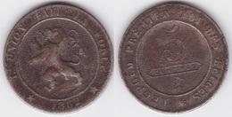 LOT 029  BELGIQUE  LEOPOLD  Ier   5 CENTIMES  1862 - 1831-1865: Leopold I