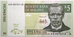 Malawi - 5 Kwacha - 1997 - PICK 36a - NEUF - Malawi
