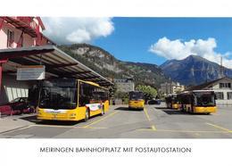 Meiringen   Bahnhof  Postauto  Limitierte Auflage! - BE Berne
