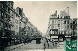 N°71181 -cpa Le Havre -perspective De La Rue De Paris- - Autres