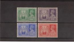 India - 1946 - Nuovo/new MNH - Victory - Mi N. 178/81 - 1936-47 Koning George VI