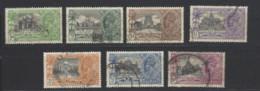 India - 1935 - Usato/used - Monumenti - Mi N. 138/44 - India (...-1947)