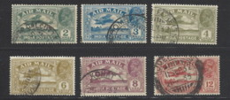 India - 1929 - Usato/used - Airmail - Mi N. 118/23 - 1911-35 King George V
