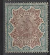 India - 1895 - Usato/used - Regina Vittoria - Mi N. 46 - 1882-1901 Imperium