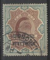 India - Gwalior - 1907 - Usato/used - King George V - Mi N. 47 - Gwalior