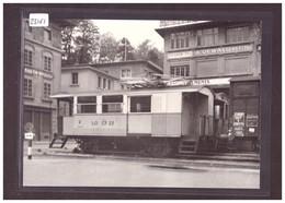 FORMAT 10x15cm - LAUSANNE-OUCHY ( LO ) - REPRO ANNEES 70 - LEUTWILER VERLAG - TRAIN - BAHN - No 127-9 - TB - VD Vaud