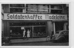 DC730 - Soldatenkaffee Madeleine Fahrrad Auto Geschäft REPRO - Eisenberg