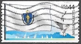 2009 44 Cents State Flags, Massachusetts, Used - Used Stamps