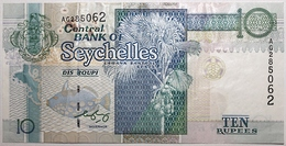Seychelles - 10 Roupies - 1998 - PICK 36b - TTB+ - Seychellen