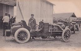 D72  Circuit De La Sarthe 1906   La Voiture 3 A Renault Au Pesage - Le Mans