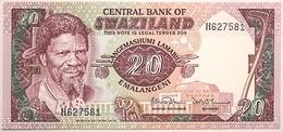 Swaziland - 20 Emalangeni - 1985 - PICK 11b - NEUF - Swaziland