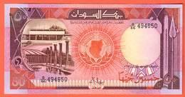 SOUDAN  Billet  50 Pounds  1987   Pick43a - Soudan