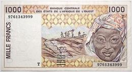 Togo - 1000 Francs - 1997 - PICK 811 Tg - TTB+ - Stati Dell'Africa Occidentale