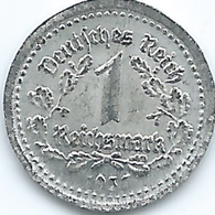 Germany - 1 Reichsmark - 1937 - Tiny Tin Coin - [ 4] 1933-1945 : Tercer Reich