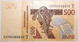Togo - 500 Francs - 2013 - PICK 819 Tb - NEUF - Stati Dell'Africa Occidentale
